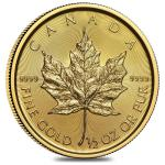 Zlatá minca Maple Leaf 1/2 Oz 2019
