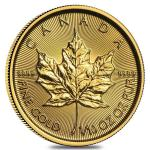 Zlatá minca Maple Leaf 1/10 Oz 2019