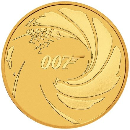Gold James Bond 007 - 1 oz - 2020
