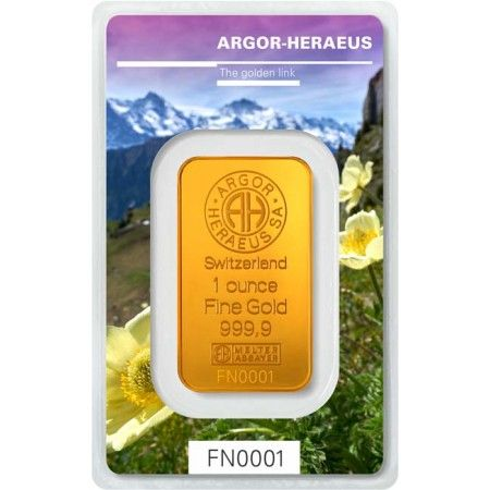 Zlatý zliatok Argor Heraeus 1Oz  - Following Nature III. (jaro) 2019